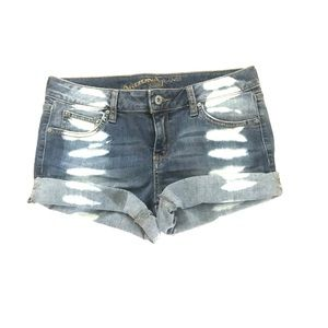 Bleach Jean Shorts
